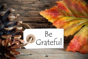 EXPRESSING GRATITUDE: THANKSGIVING ALL YEAR LONG